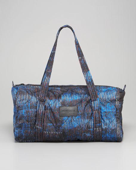 Printed Nylon Duffel Bag