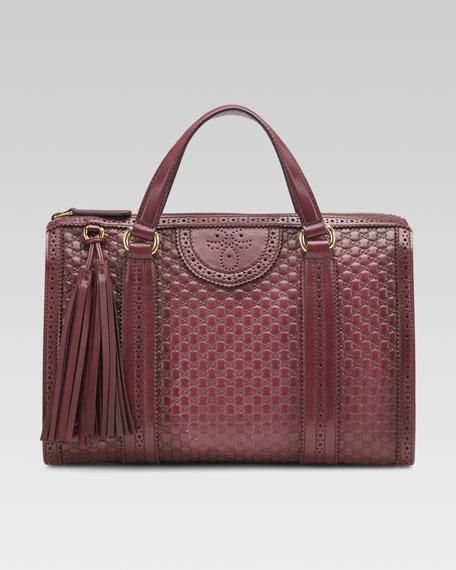 Duilio Micro-GG Boston Bag, Medium