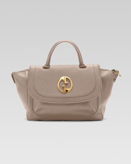 1973 Top-Handle Satchel Bag, Medium