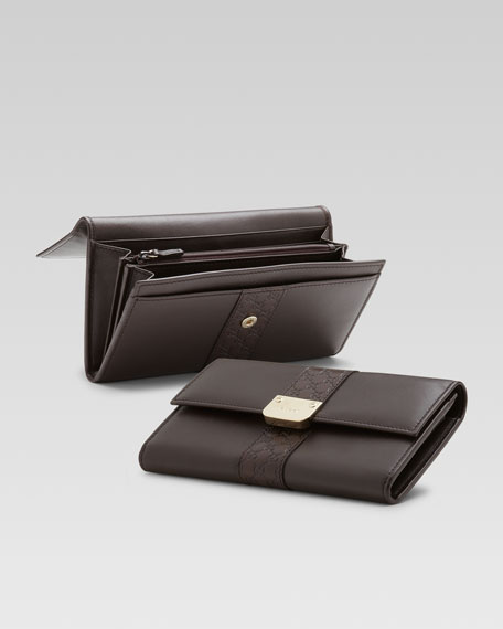 Ladies Bar Continental Wallet
