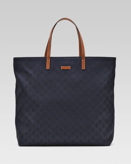 8f5aca0fc71 Gucci Nylon Guccissima Tote Bag