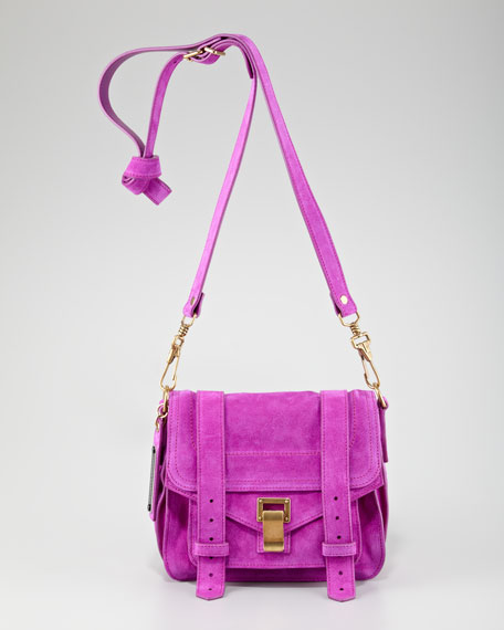 PS1 Suede Pouch, Orchid