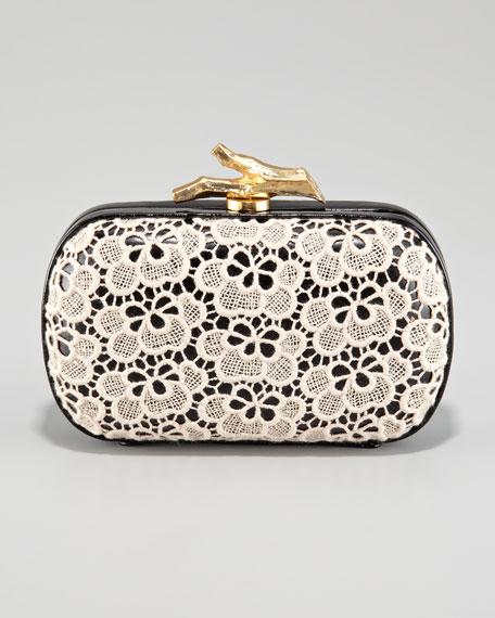 Lytton Lace Clutch Bag