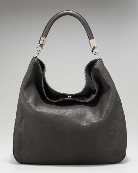Roady Ranch Leather Hobo Bag
