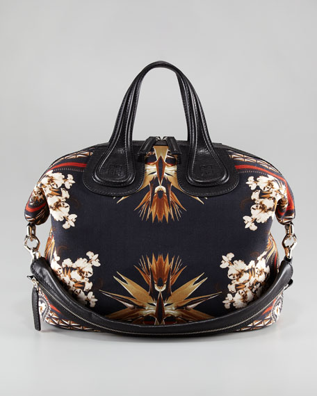Nightingale Paradise Flower Bag, Medium