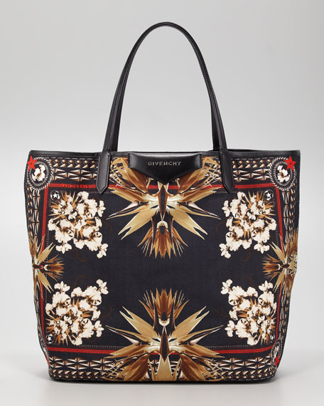 Antigona Paradise Floral Tote Bag