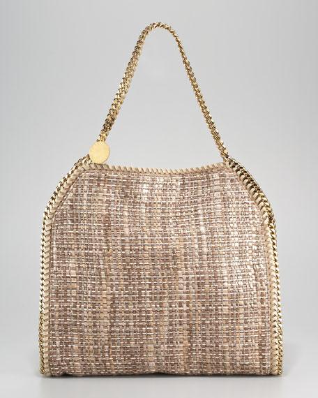 Metallic Boucle Baby Bella Tote Bag