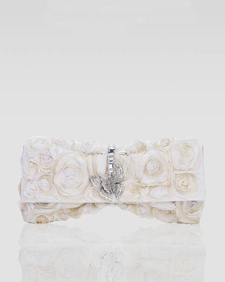 Nora Rosette Clutch Bag