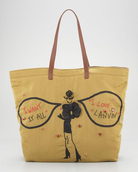 Sketches Shopping Bag