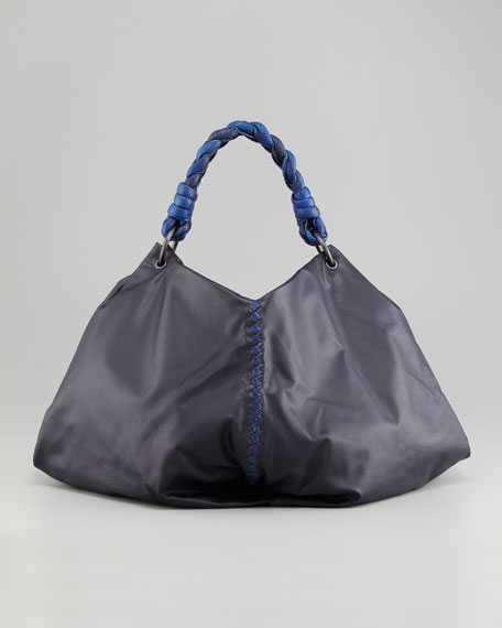 Karung-Trim Hobo Bag
