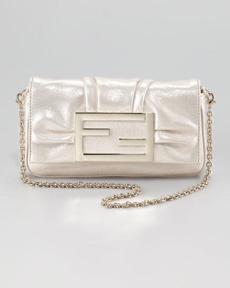 Mia Metallic Crossbody Bag