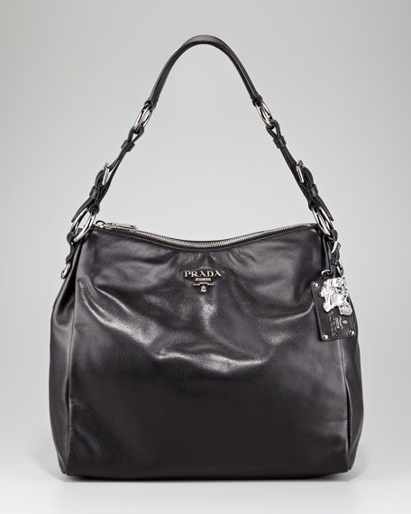 Soft Calfskin Hobo Bag