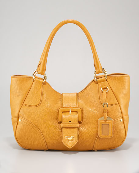 Vitello Daino Buckle Tote Bag