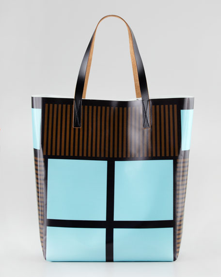 Printed Polyester Shopper