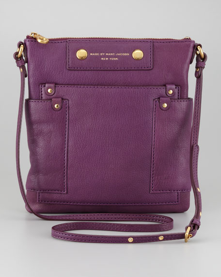 Preppy Leather Sia Crossbody Bag