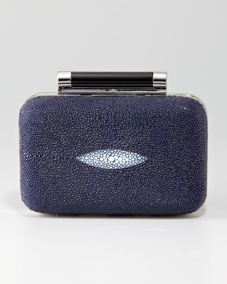 Tonda Small Stingray Clutch Bag