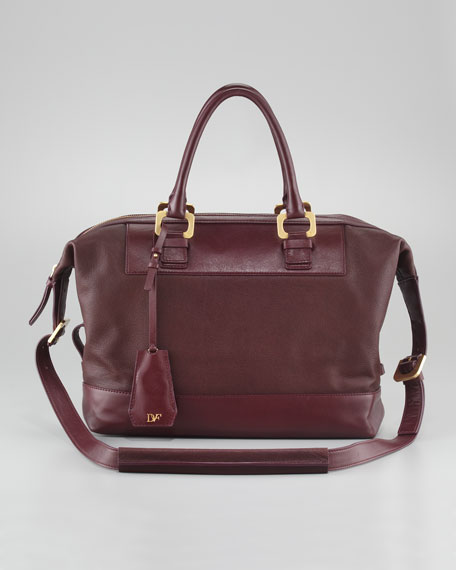 Drew Goatskin Satchel Bag