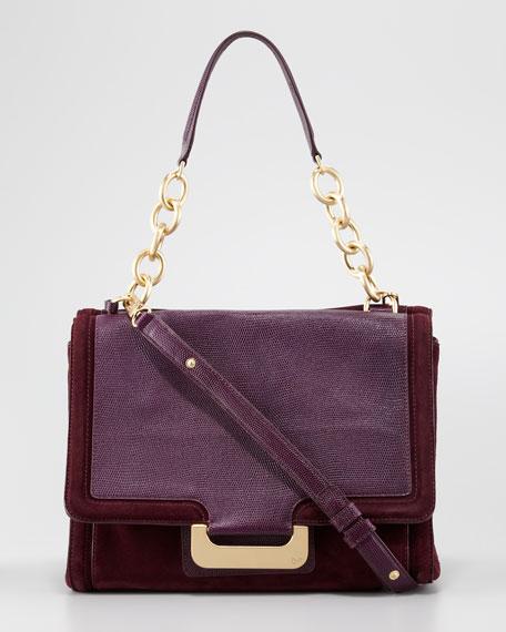 New Harper Charlotte Lizard Bag