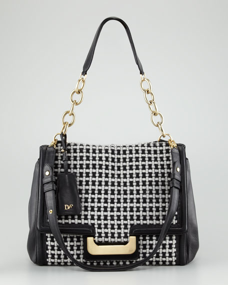 New Harper Charlotte Check Shoulder Bag