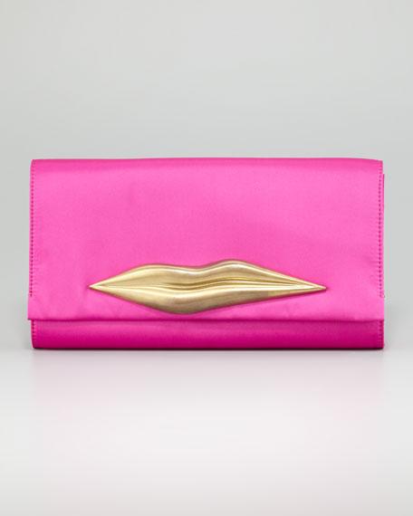 Carolina Lips Clutch Bag