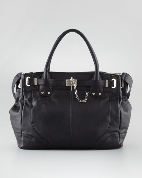 Leather Zoe Tote Bag Deux