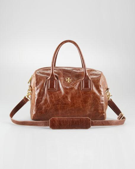 City Leather Satchel Bag