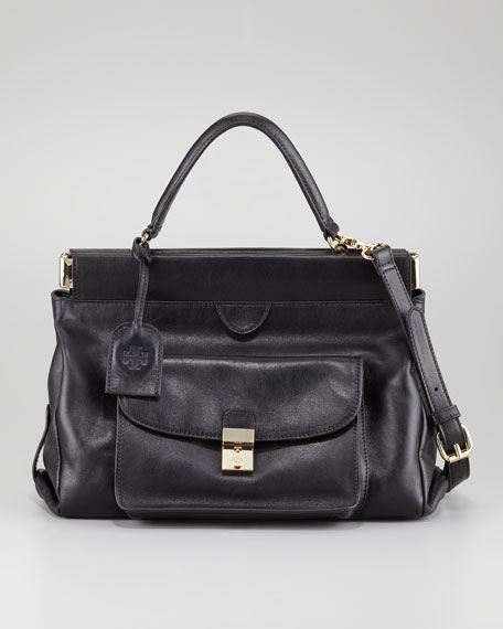 Priscilla Small Frame Satchel Bag