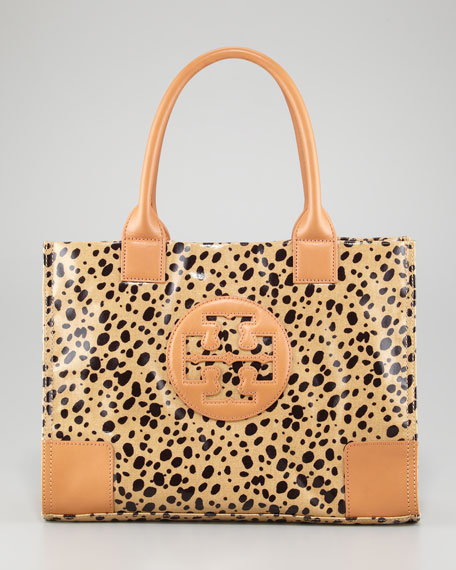 Ella Mini Animal-Print Tote Bag