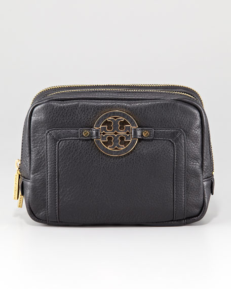 Amanda Double-Zip Cosmetic Case