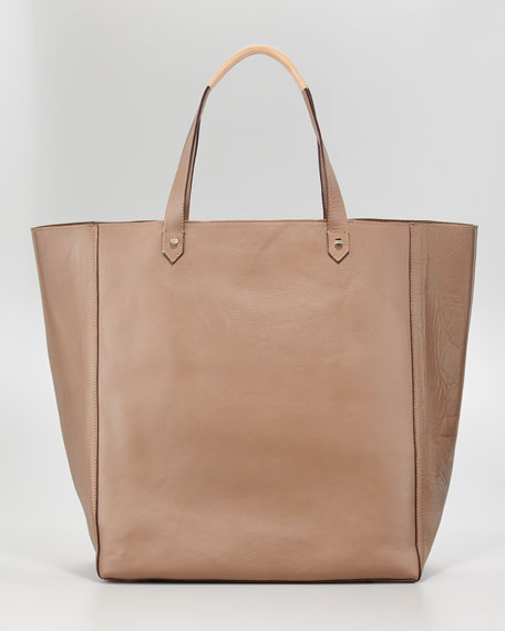 Ashleigh Tall Leather Shopper