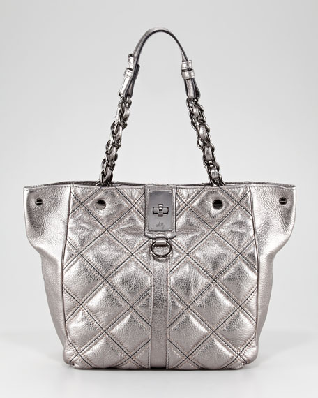 Sabrina Quilted Tote Bag