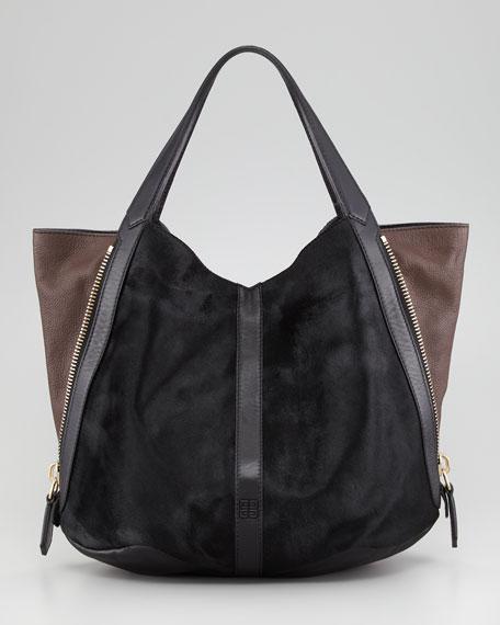 5cfbab8fbc Givenchy Tinhan Calf Hair Shopper Tote Bag