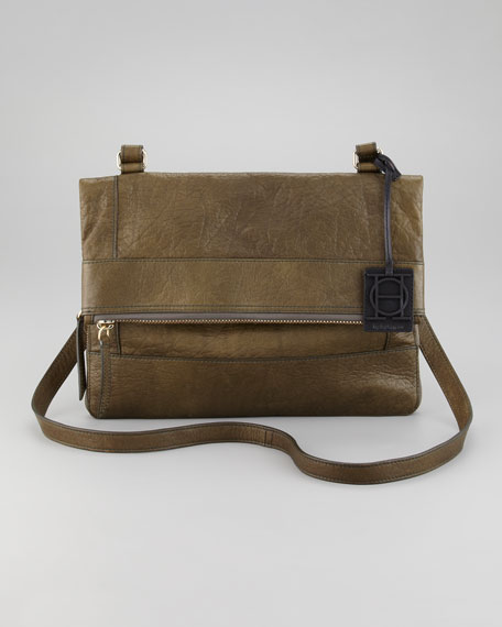 Fold-Over Messenger Bag