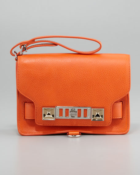 PS11 Wristlet Clutch Bag, Orange