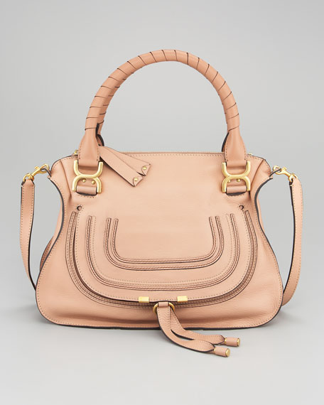 Marcie Satchel Bag, Medium