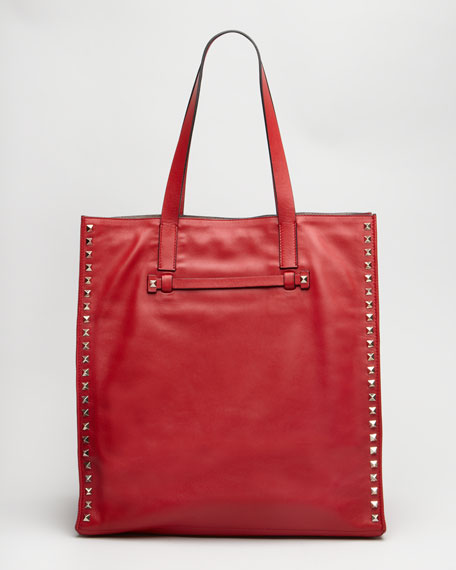 Rockstud Shopping Tote Bag