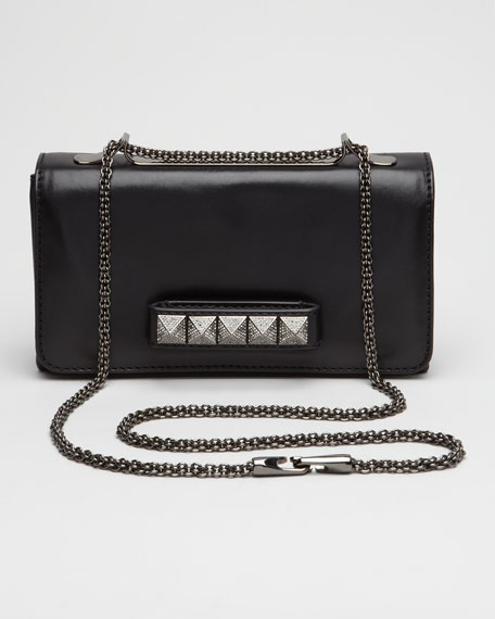 Noir VaVa Voom Flap Bag