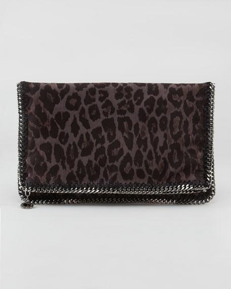 Leopard-Print Clutch Bag