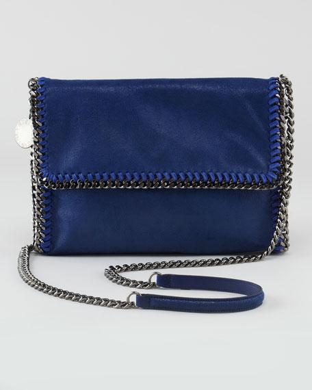 Faux Leather Messenger Bag, Ink