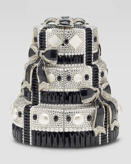 Tuxedo Bows Cake Minaudiere