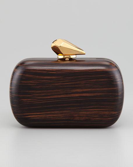 Margo Wooden Minaudiere