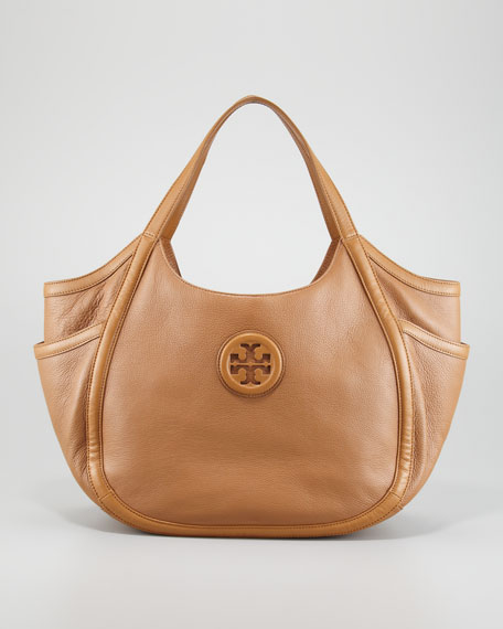 Hannah Pocket Hobo Bag, Sand