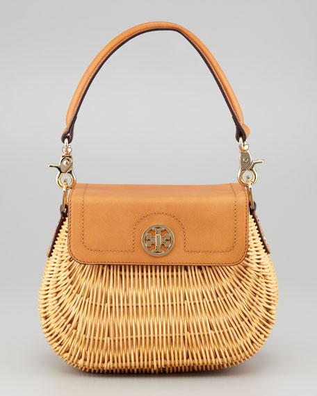 Lcqrd Rattan Basket Bag, Nat
