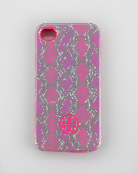 Pop Snake-Print Soft iPhone 4 Case