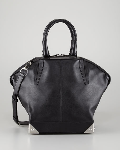 Emile Small Shoulder Bag, Black