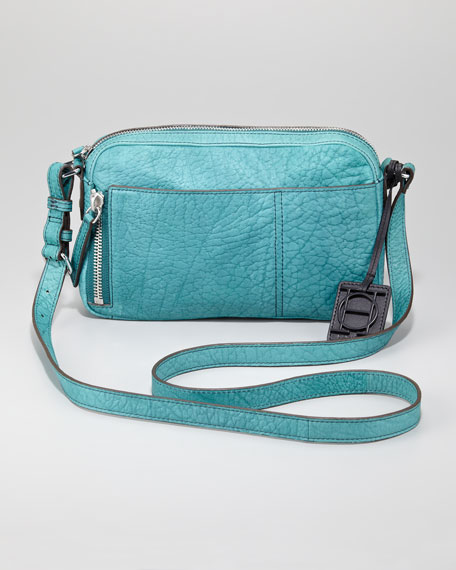 Camera Crossbody Bag, Peacock