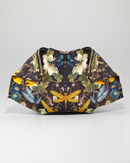 Dragonfly De-Manta Clutch Bag