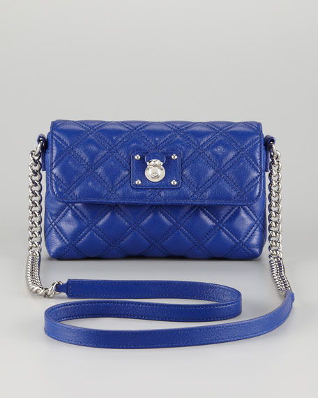 e20ef073142 Marc Jacobs Single Quilted Large Crossbody Bag, Blue