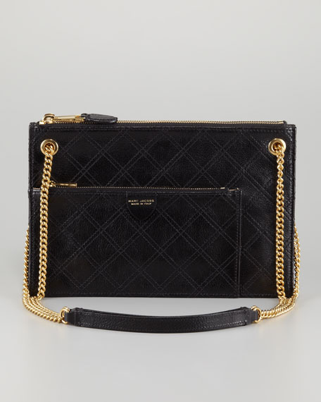 The Doll Shoulder Bag, Black