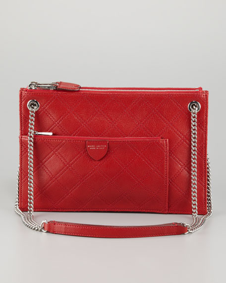 The Doll Shoulder Bag, Red